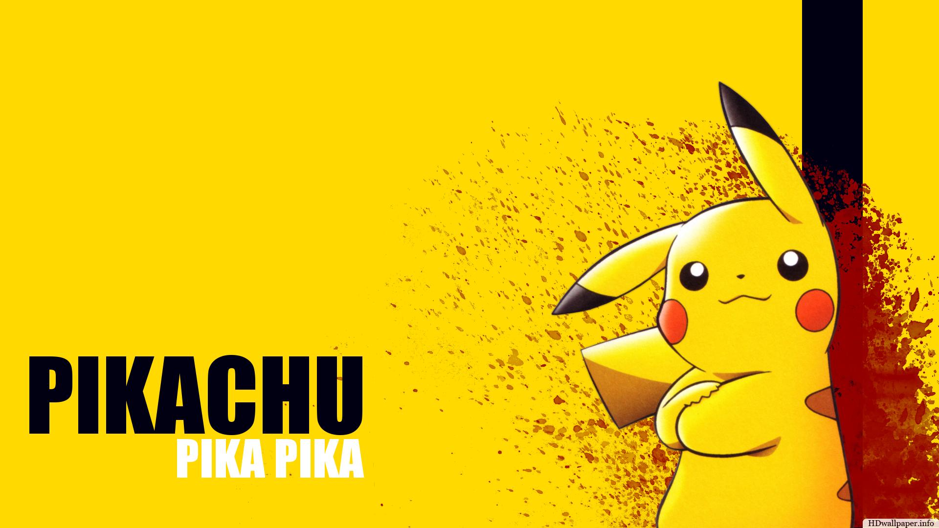 pikachu wallpaper download http//hdwallpaper.info