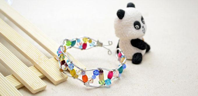 how to make a bangle bracelet