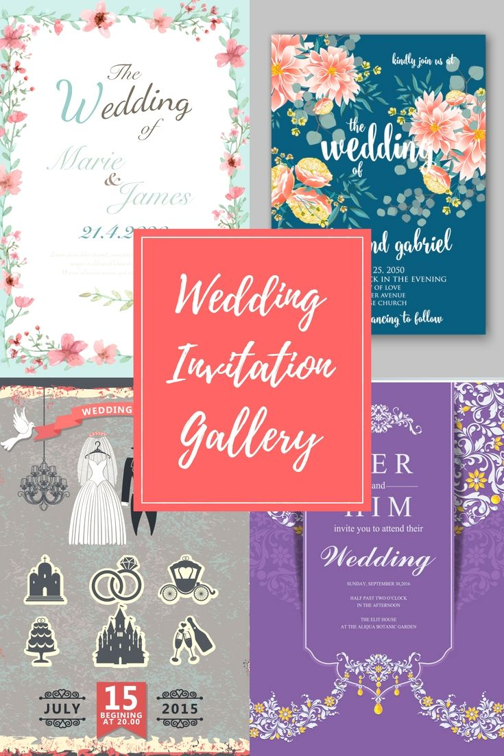 Cost-free Wedding Invitation Cards Samples - Start Planning Your ...