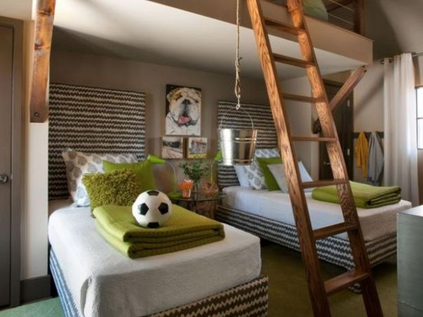 Bed Inspirations for Kids rooms : Interior Design and Decor Ideas | Ideas | PaperToStone
