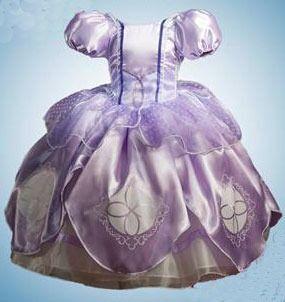 c4f4ee31c Vestido Princesa Disfraz Princesa Sofía Corona Amuleto Zapat -   970.00 en  MercadoLibre