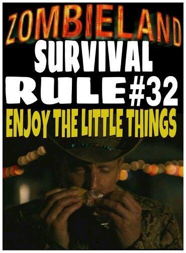 Zombieland Rules | Zombieland rule #32 | Zombie Stuff | Zombieland