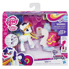 MLP Action Play Pack Wave 2 Rarity Brushable Figure