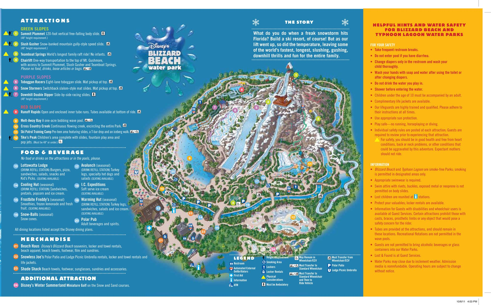 map of blizzard beach orlando Disneys Blizzard Beach Water Park Map Disney Blizzard Beach map of blizzard beach orlando