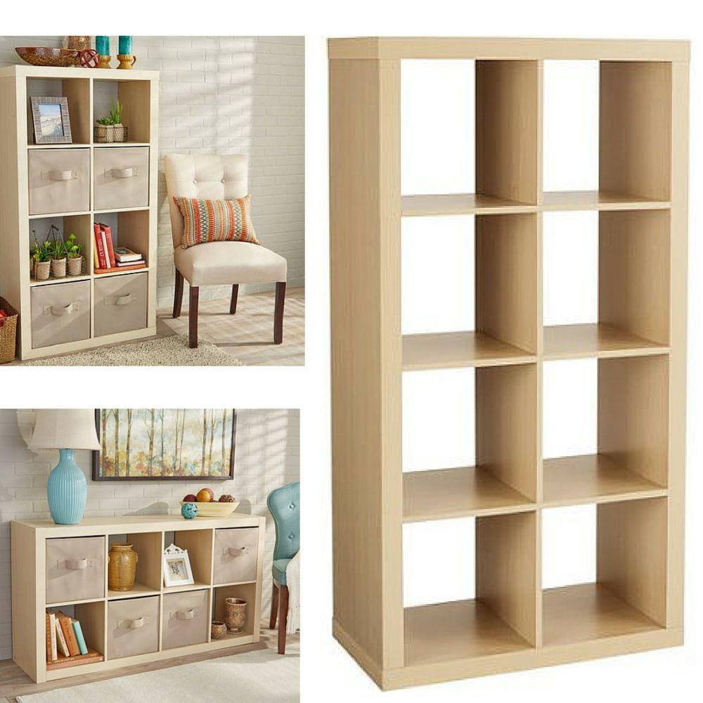 Cube Storage Closet Organizer Shelves Display TV Stand Books Shoes  Closetmaid