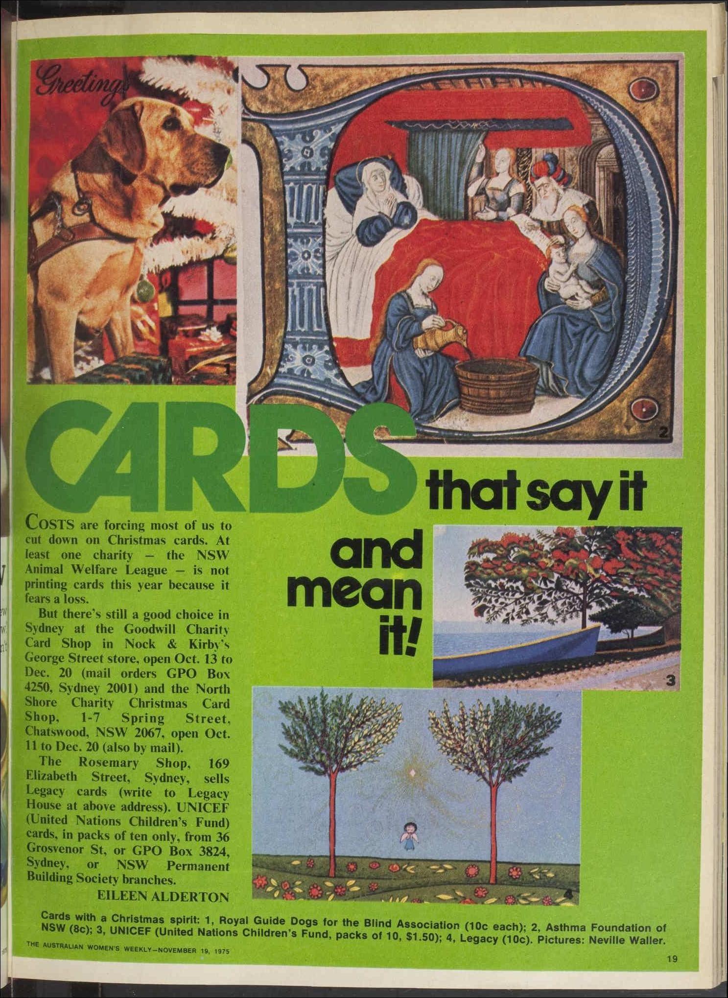 Issue 19 Nov 1975 The Australian Women's Wee