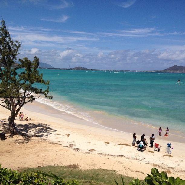 Beach House In Oahu: Kailua Beach Park, Oaha, Kahului, Maui, Hawaii