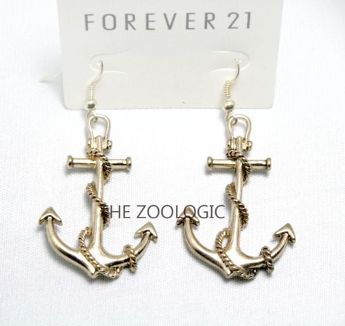 Anchor Earrings From Forever 21 Cranial Nerves Wish
