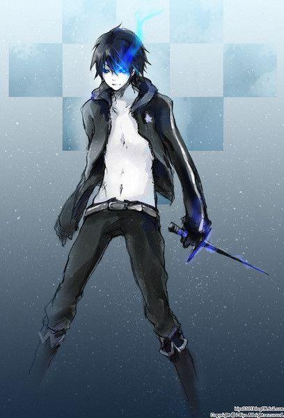 Mikuo Black Rock Shooter Genderbend Black Rock Shooter Black