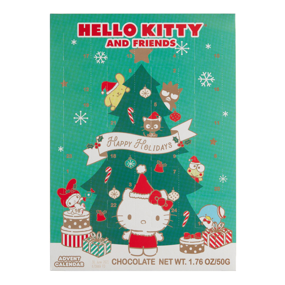 Wawi Chocolates Hello Kitty Advent Calendar World Market Hello Kitty A Christmas Story Hello Kitty Collection