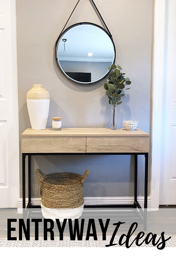 The top entryway items YOU need to complete your entryway. Make your home reflect your style. #entrywaydesign #entrywayideas