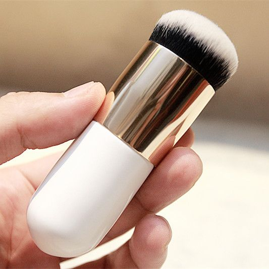 New Makeup Brush Synthetic Hair Chubby Pier Foundation Brush Flat ...