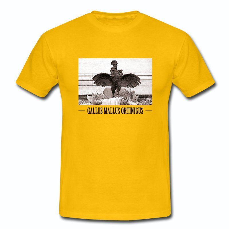 T-shirt Jaune France Coq Gaulois