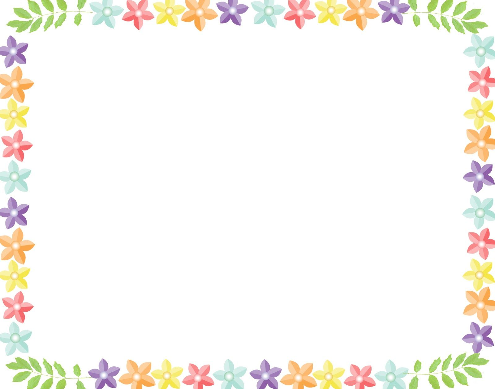 White Backgrounds With Colorful Borders borders | Backg...