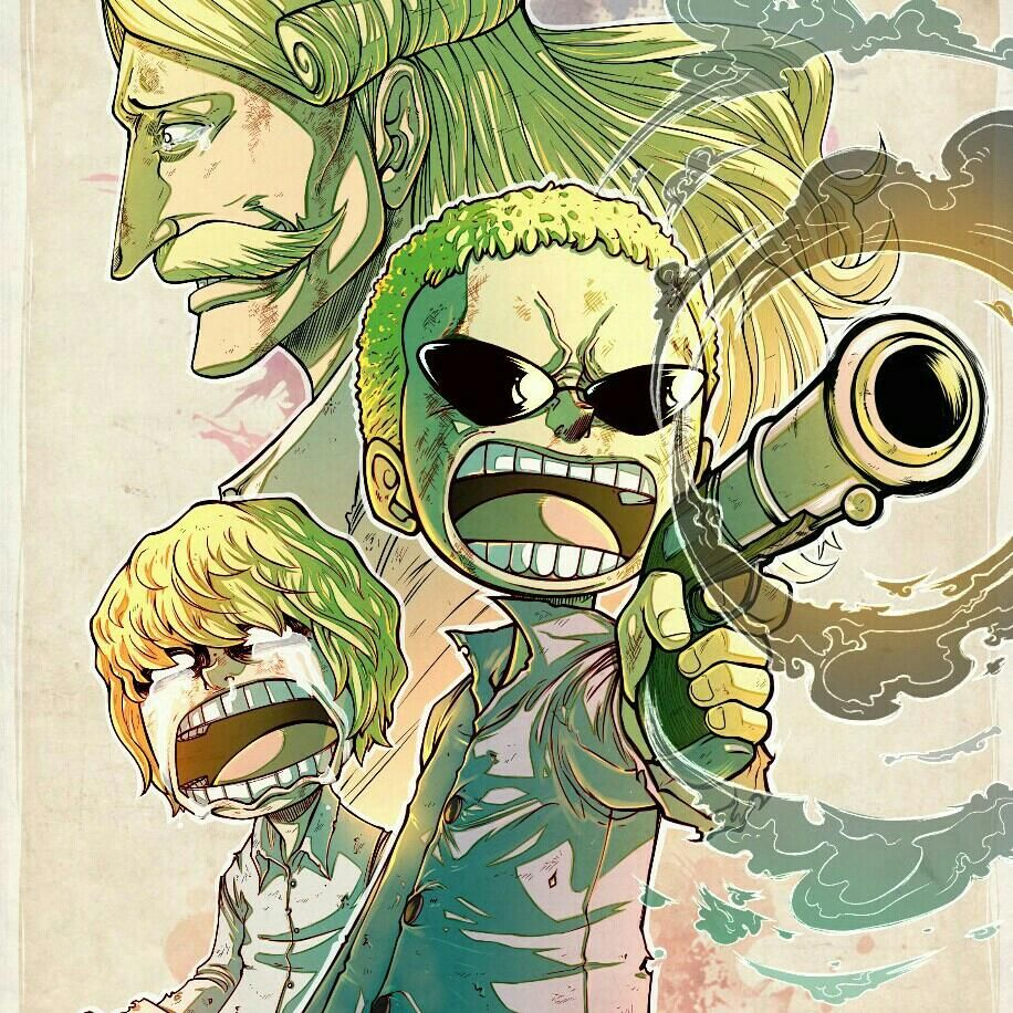 Daboss (With images) One piece drawing, One piece anime