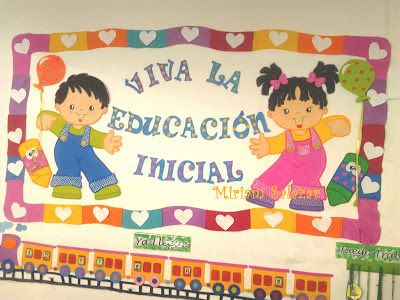 Recursos Para Educacion Inicial Classroom Decorations Ymca School Classroom Decor