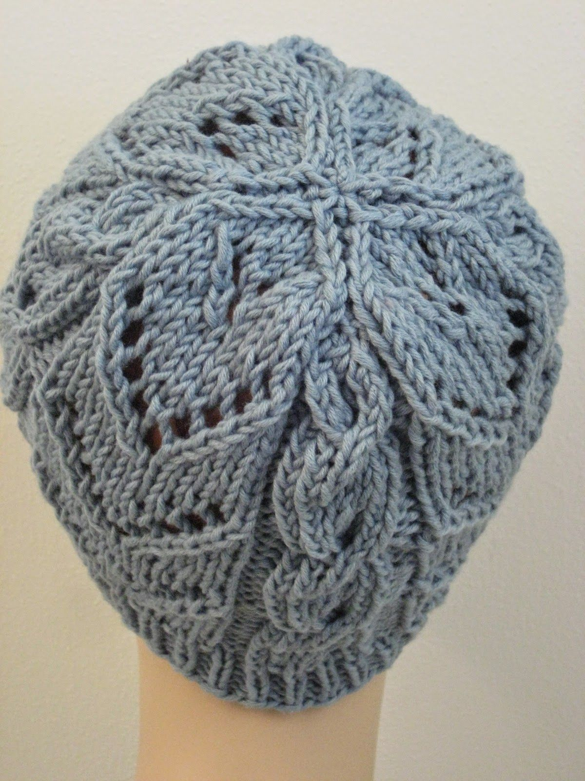 Chevrons & Cables Hat Balls to the Walls Knits, A collection of free ...