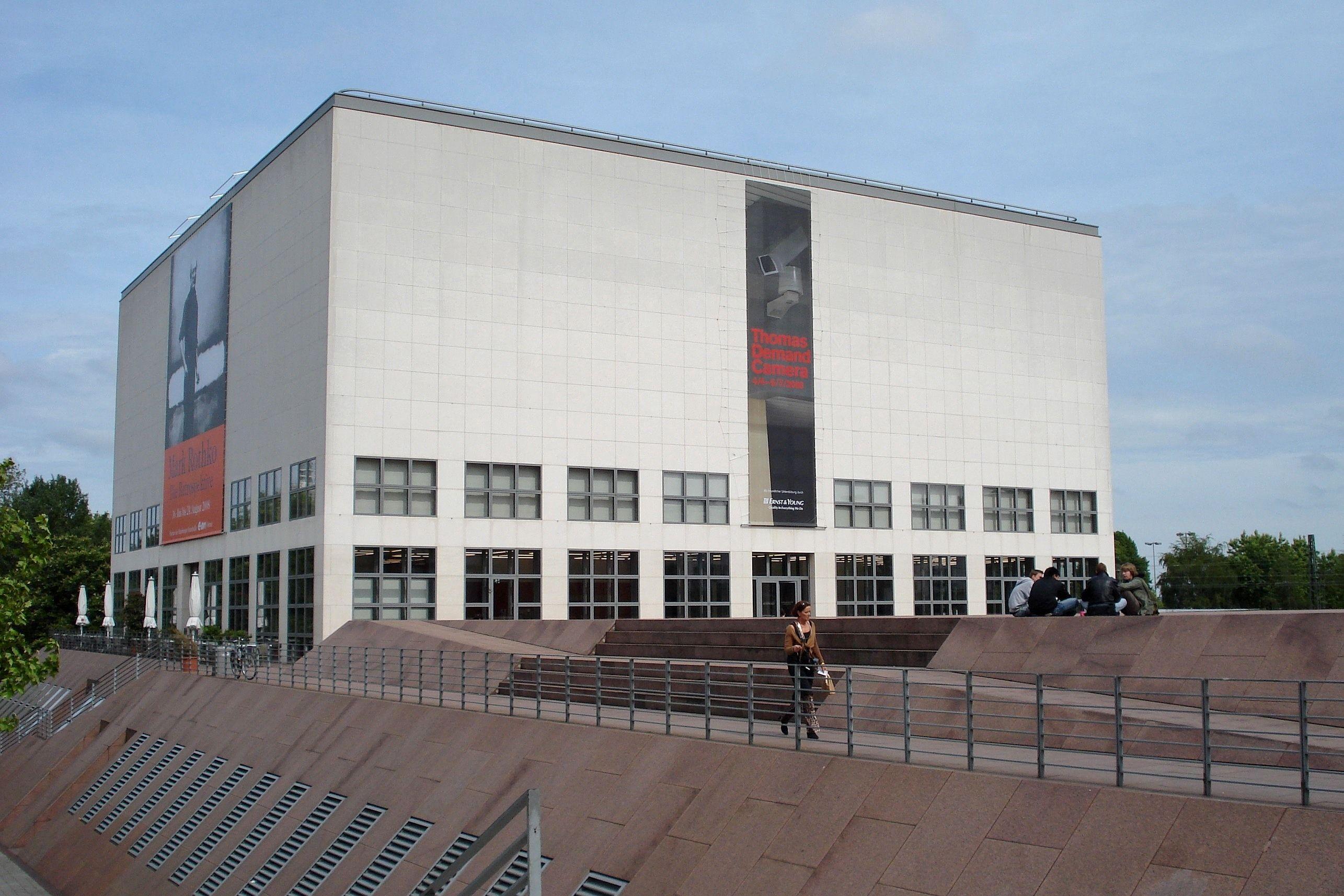 Oswald Mathias Ungers Hamburger Kunsthalle 1995 Architecture