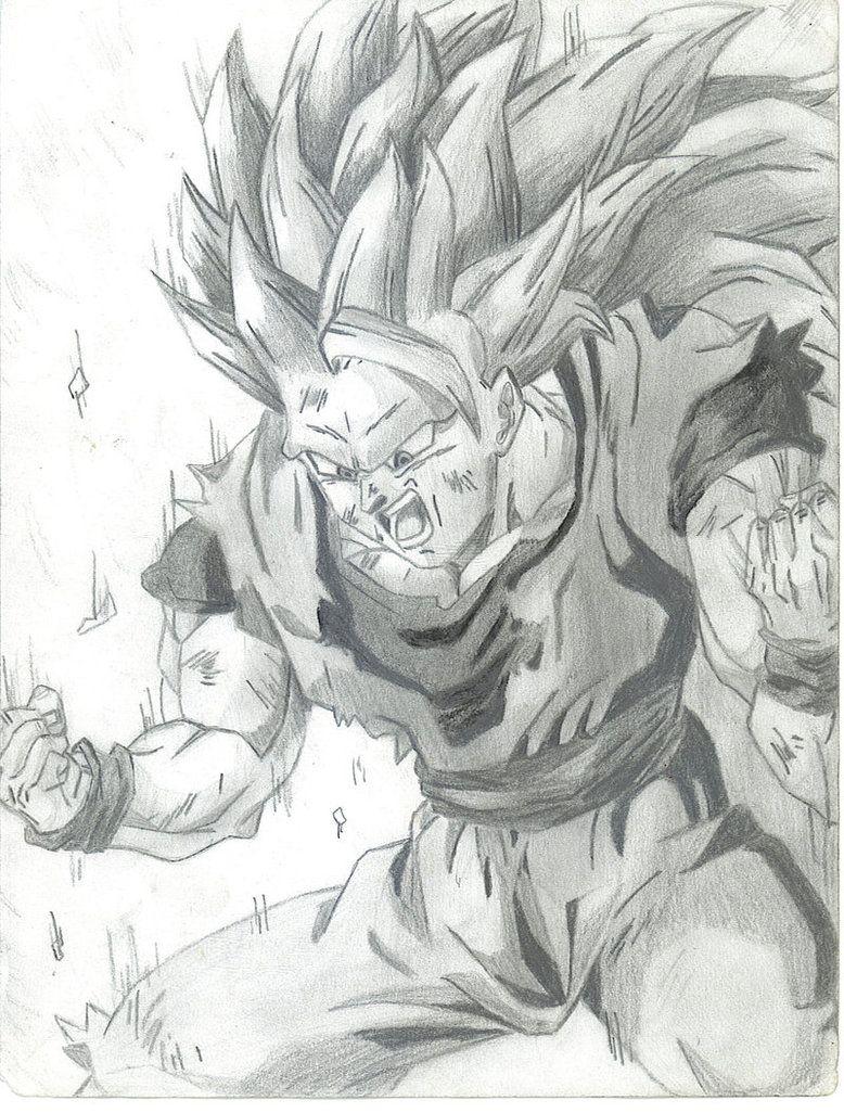Earthquake2009 Deviant Art SSJ3 Goku | Dragon Ball Z | Pinterest ...