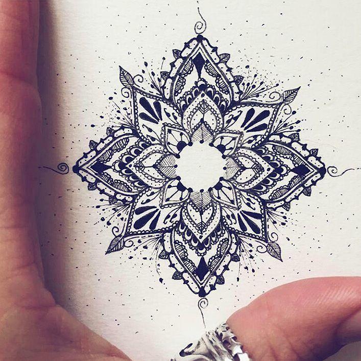 Best Women Tattoo - Inspiration tatouage mandala