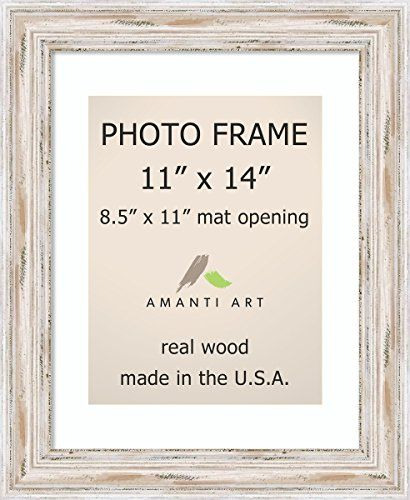 Picture Frame 11x14 Matted To 85x11 Alexandria White Wash Wood Outer Size 14 X 17 See This Great Product Photo Frame Black Picture Frames Black Photo Frames