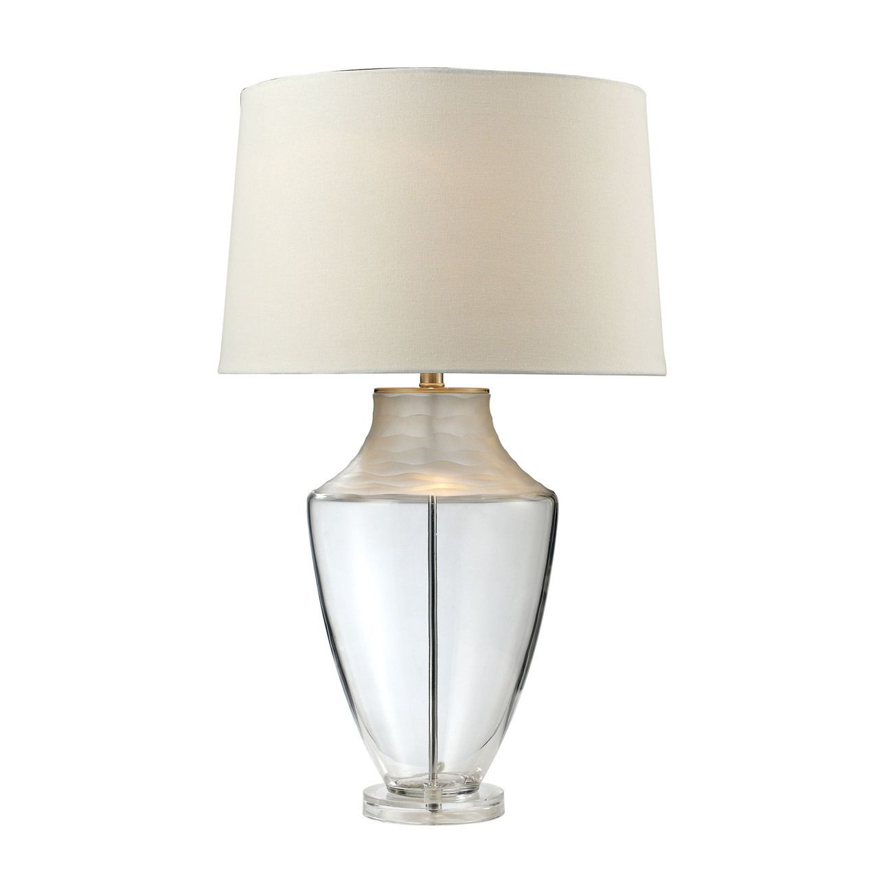 "30"" Spin Cut Glass Table Lamp 979001"