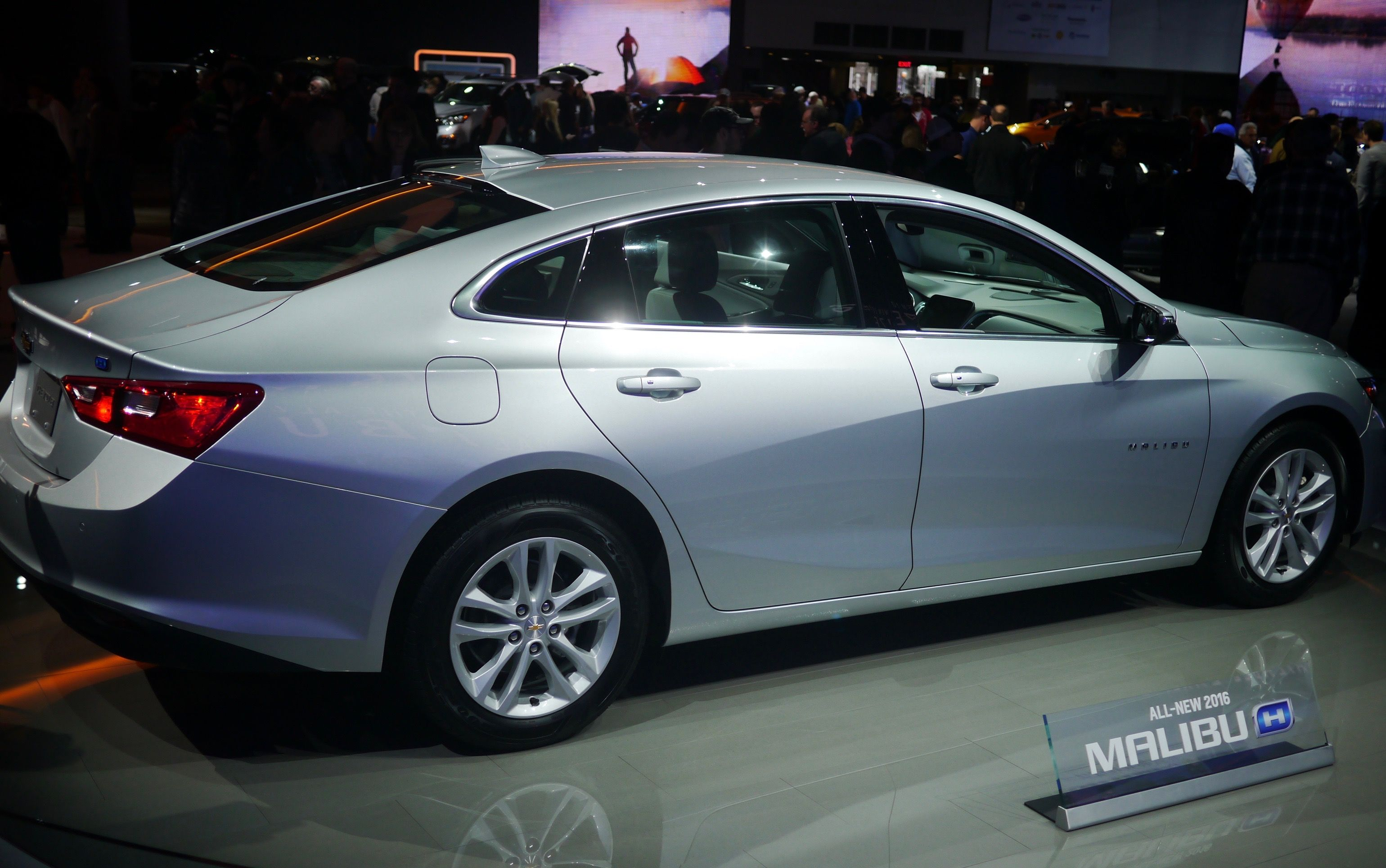 2016 Chevy Malibu at NAIAS 2016 the Detroit Auto Show