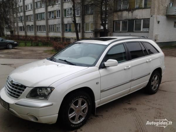 2005 Chrysler Pacifica Our Latest Vehicle Acquired In 2012 With