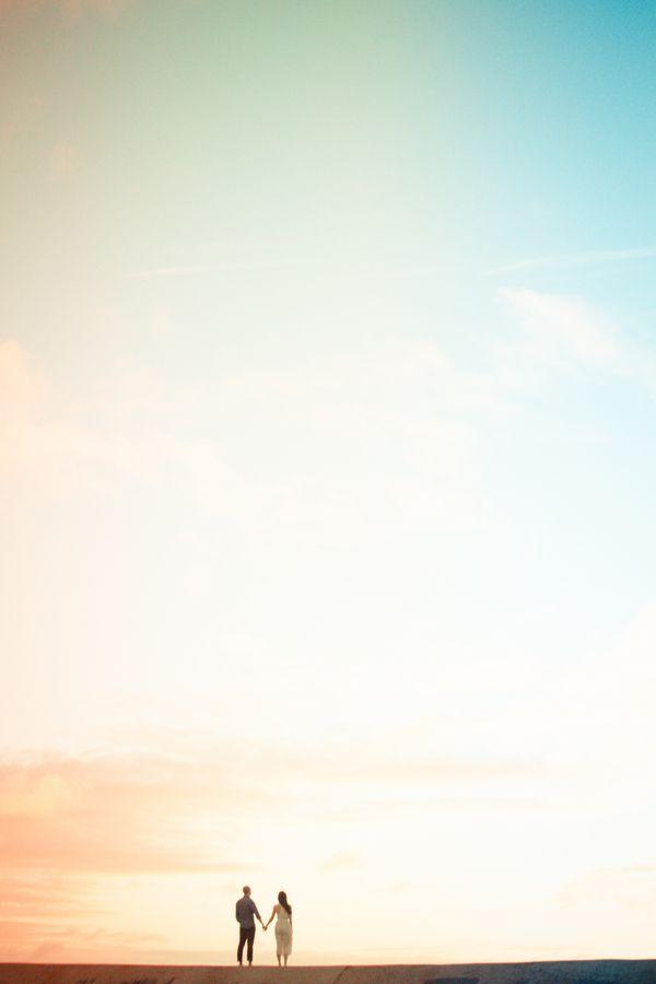 Oh Christina Heaston you are inspiring! Love this sunset shot! #hawaii #wedding #photographer #engagement
