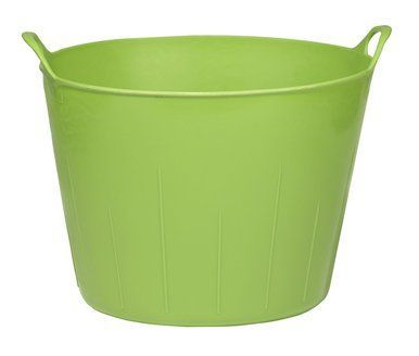 Miller Manufacturing Poly Rubber Flex Tub Lightweight Flexible Lime Green 11gal Little Giants Lime Green Tub