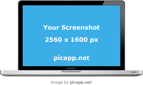 Place Your App Screenshot In This Gorgeous Black Macbook Air With Transparent Background Just One Click You Don T Need Technical Skills Yo Image App Macbook