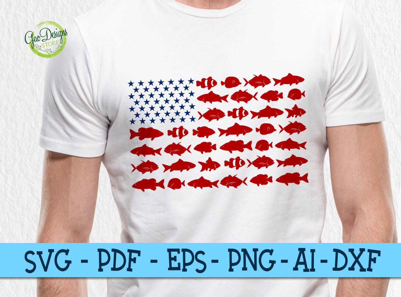 Fishing usa flag svg Usa flag, Svg files for cricut, Flag