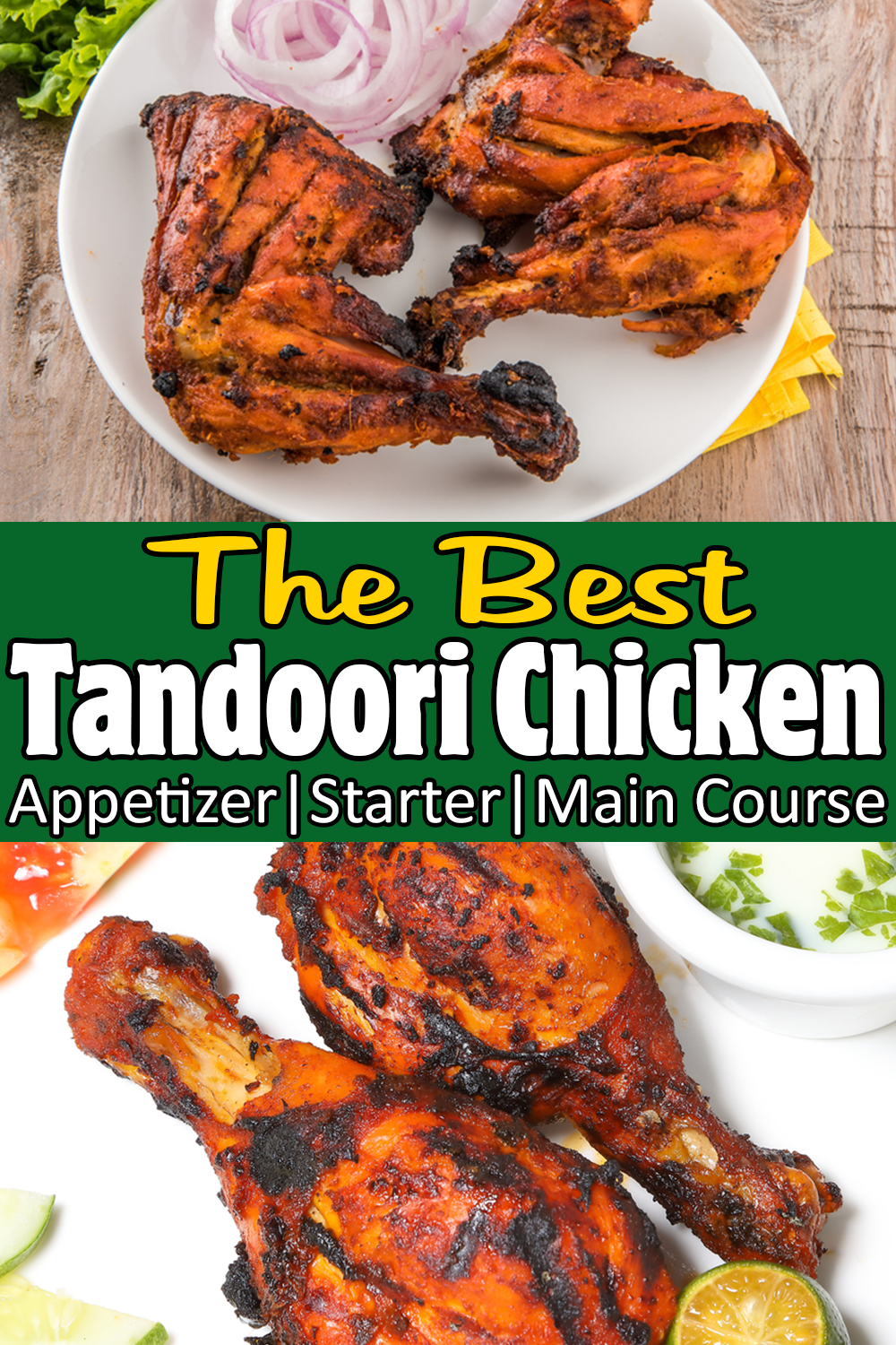 Best Tandoori Chicken #tandoorichicken