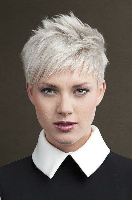 Image result for messy textured short pixie fine hair | Short pixie ...