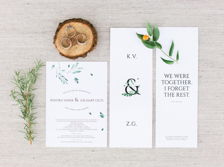 wedding invite design | #simple #wedding #invite #design ...
