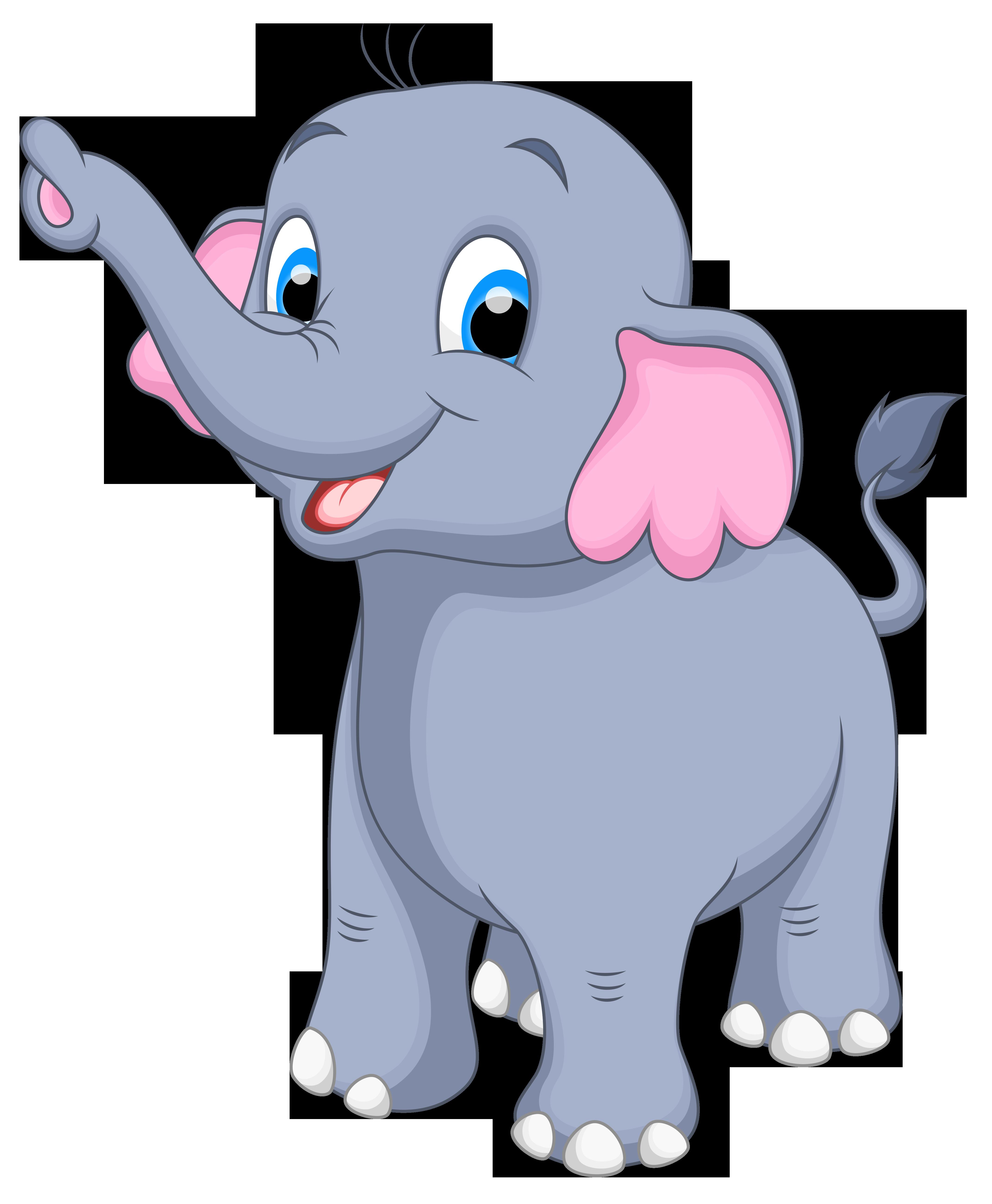 Transparent Background Elephant Clipart Png Cute Elephant Cartoon Elephant Clip Art Cartoon Elephant