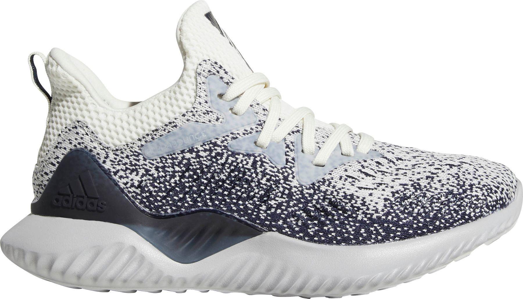 buy popular 1dfde 98544 adidas Kids Grade School alphabounce beyond Running Shoes, White Adidas  Kids, Adidas Men
