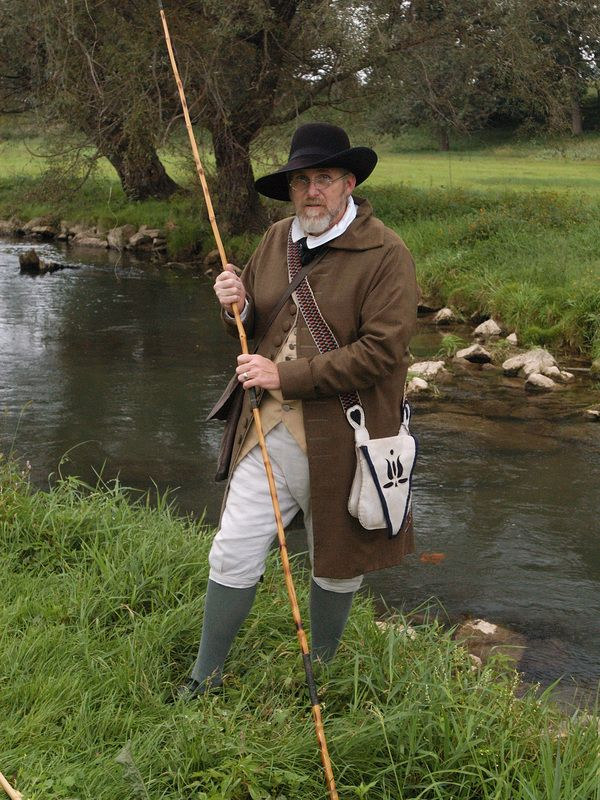 Well known author of the colonial angler ken reinard will for Fly fishing shops