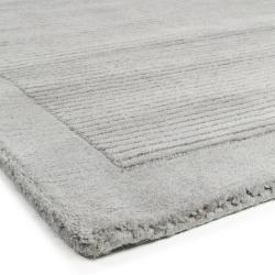 Photo of benuta Naturals Wollteppich Uni Grau 120×170 cm – Naturfaserteppich aus Wolle
