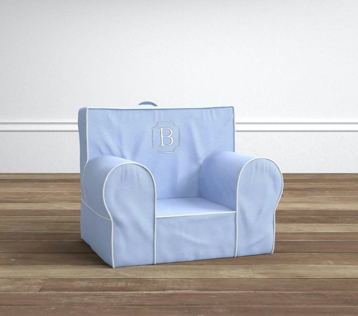 Pottery barn kids chair Kids lounge chair, Toddler