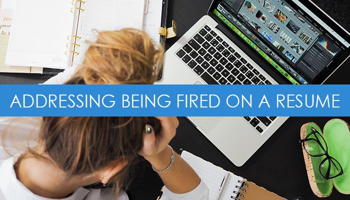 how to address getting laid off