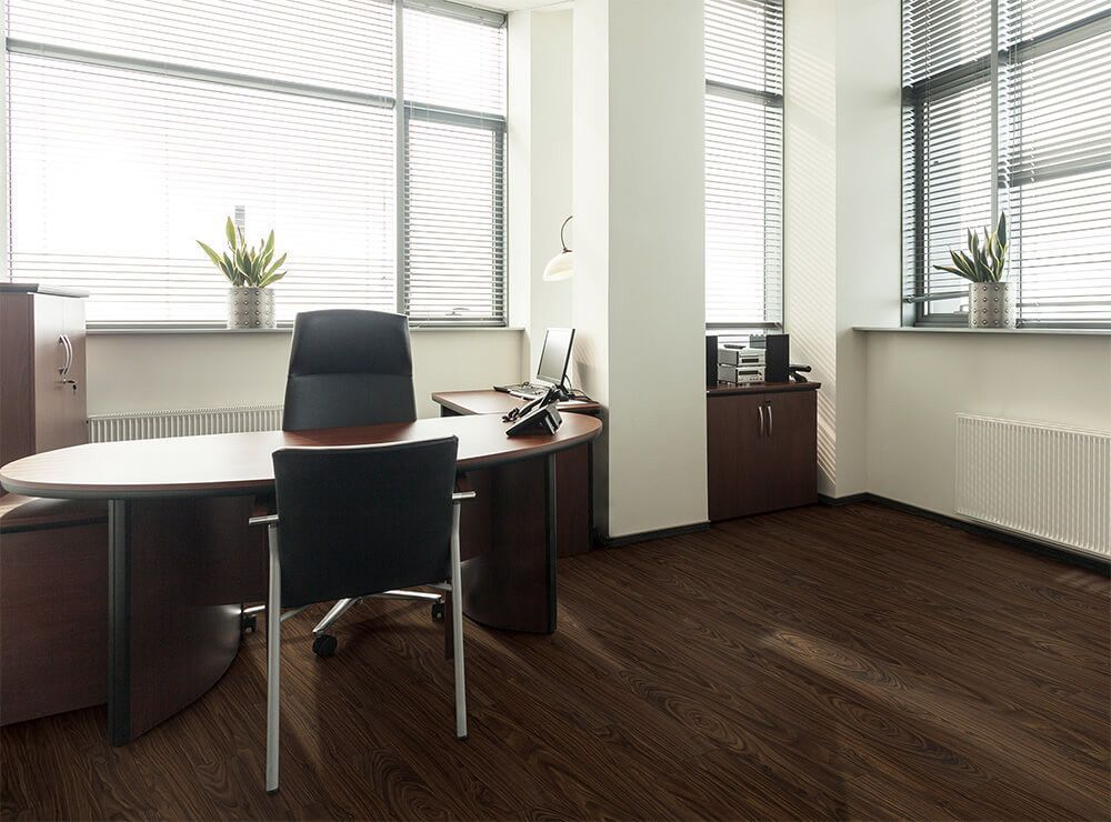 Black walnut Vinyl wood flooring, Engineered vinyl plank