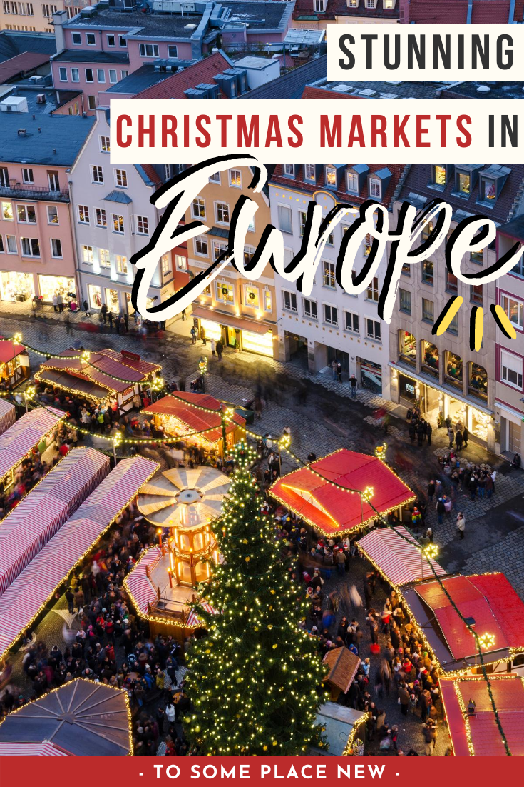 Christmas 2020 Destinations Europe Christmas Markets Bucket lists in 2020 | Christmas travel