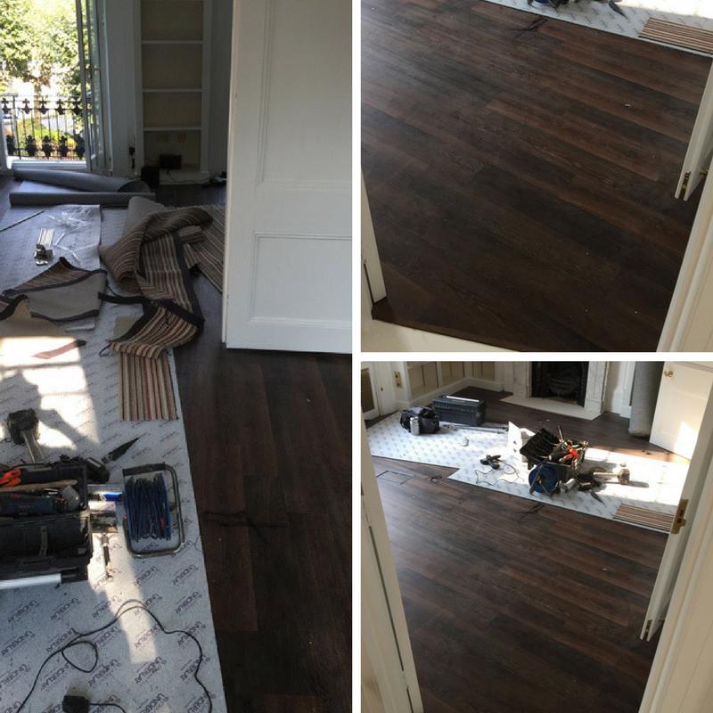 Hardwood Flooring Installed To Premises In East London Residence