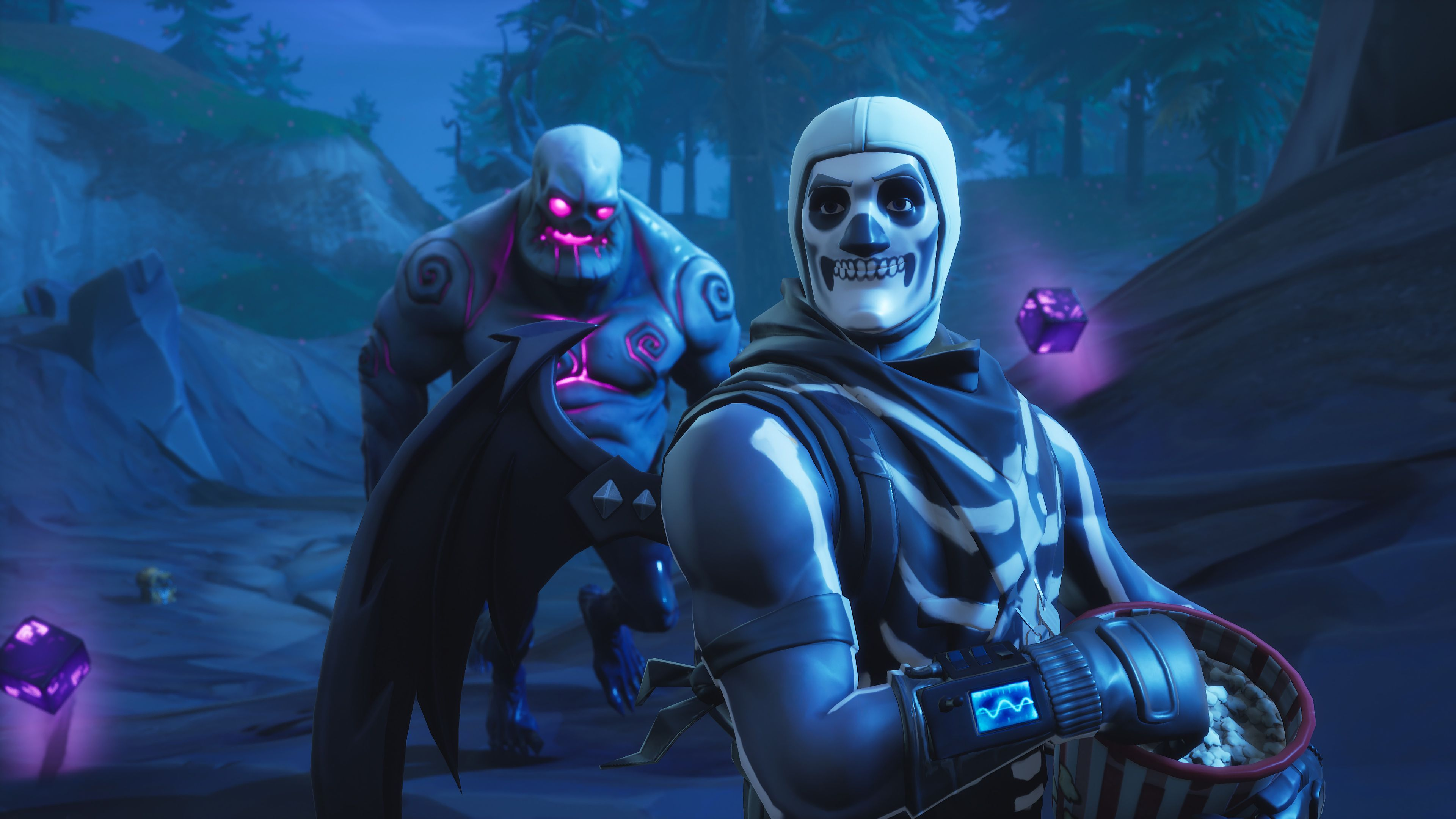 Skull Trooper Fortnite Battle Royale 4k 25555 Fortnite Skulls Drawing Gaming Wallpapers