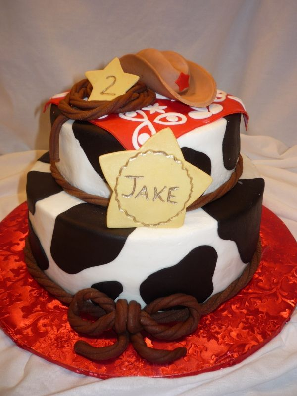 Cowboy Jakes Birthday Cake Cakes Pinterest Birthday Cakes