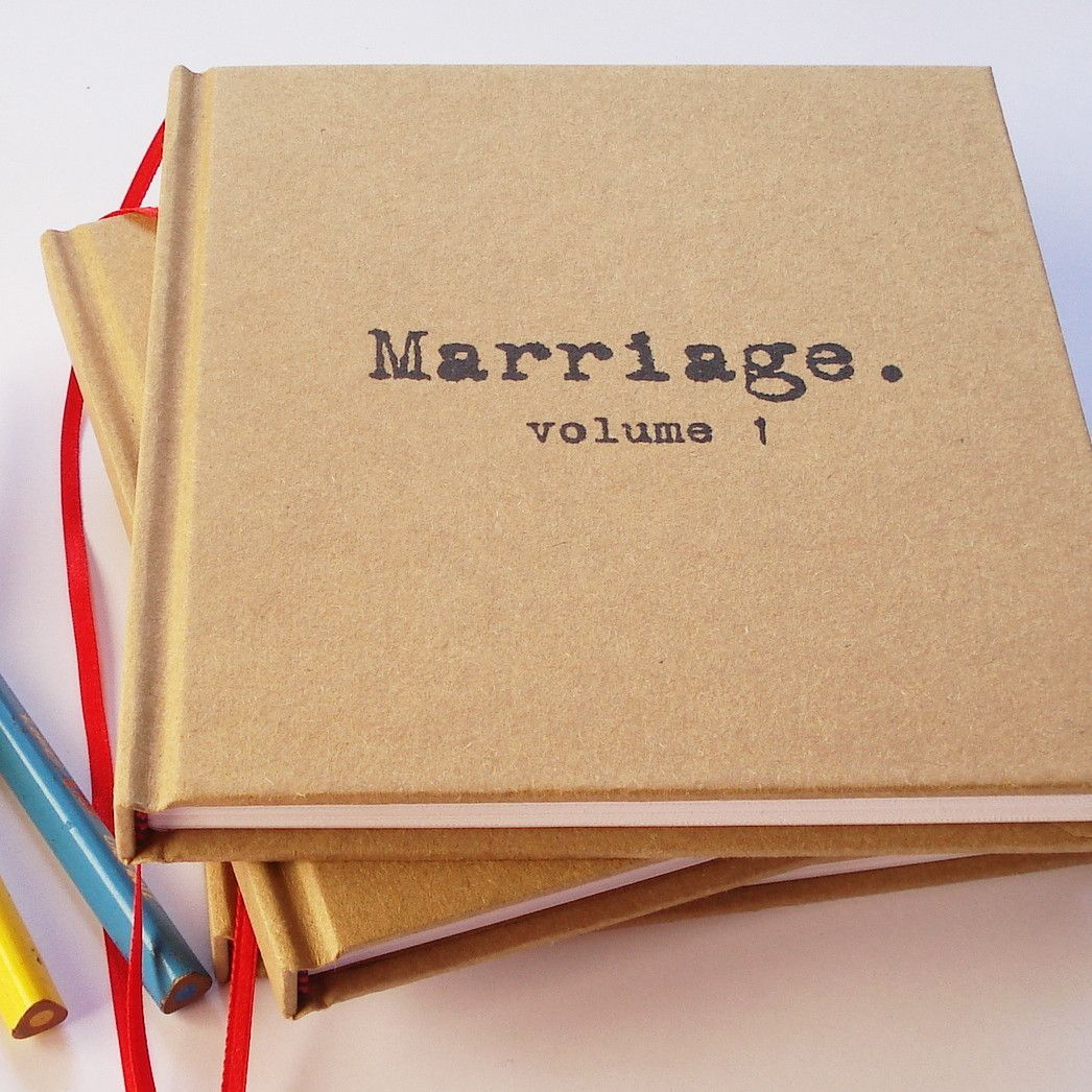 Gifts For Paper Wedding Anniversary: MARRIAGE, Volume 1. Our First Anniversary Gift · Paper