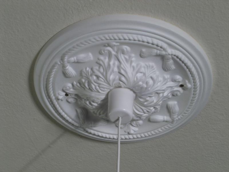 Große Deko- Lampen- Rosette  - lampen für wohnzimmer
