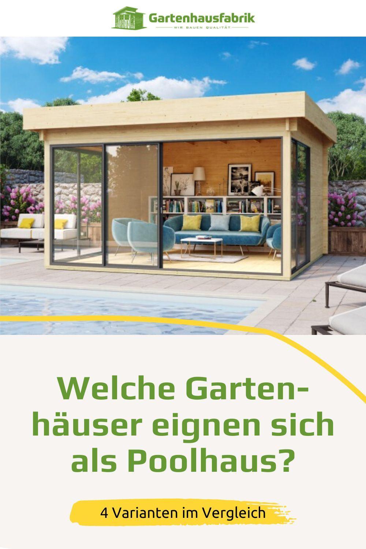So Verwandelst Du Dein Gartenhaus In Ein Poolhaus 7 Hilfreiche Tipps In 2021 Poolhaus Pool Haus Gartenhaus