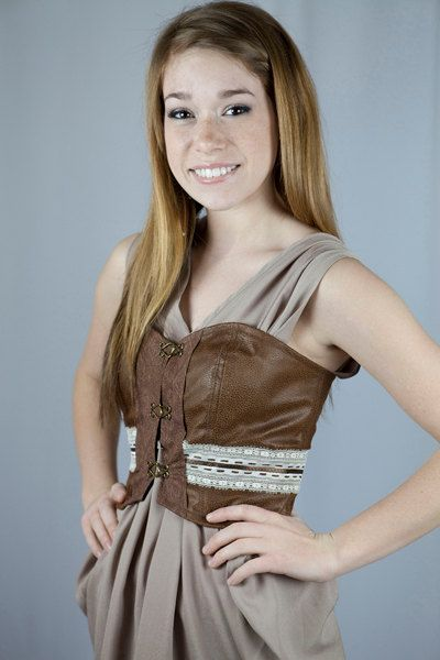 Cogs corset Slow Down Sister corset by JRPROJECT on Etsy, $4200 - sisters halloween costume ideas